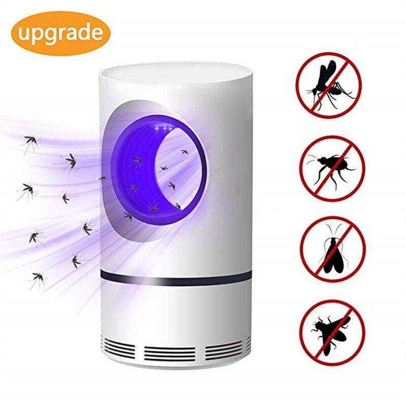 5W Usb Alimentado Photocatalys LowVoltage UV Fotocatalítico Led Anti Mosquito Elétrico Lâmpada Assassino Inseto Armadilha Luzes de Caça Luz