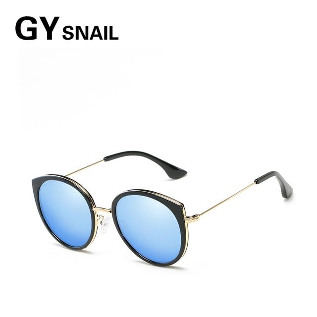 858d70009d544 GY caracol moda olho de gato óculos de sol das mulheres designer de marca  do vintage