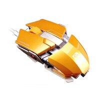 Новейшая Ограниченная серия бессмертная Лазерная сменная игровая мышь 8200 dpi подсветка Проводная металлическая для ноутбука ПК LOL USB проводн