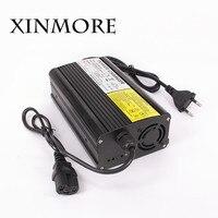 Xinmore lifepo4 lítio carregador de bateria 87.6 v 3.5a 3a 2.5a carregador 72 v (76.8 v) para bateria de carro carregador inteligente aa