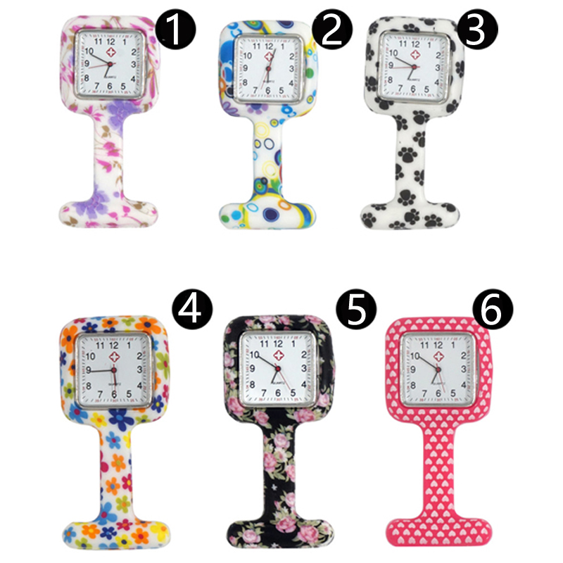 Square Clip Silicon Nurse Rubber Pocket FOB Watches Men Women Docter Hanging Medical Watch Free Shipping High Quality Gift free drop shipping 2017 newest europe hot sales fashion brand gt watch high quality men women gifts silicone sports wristwatch