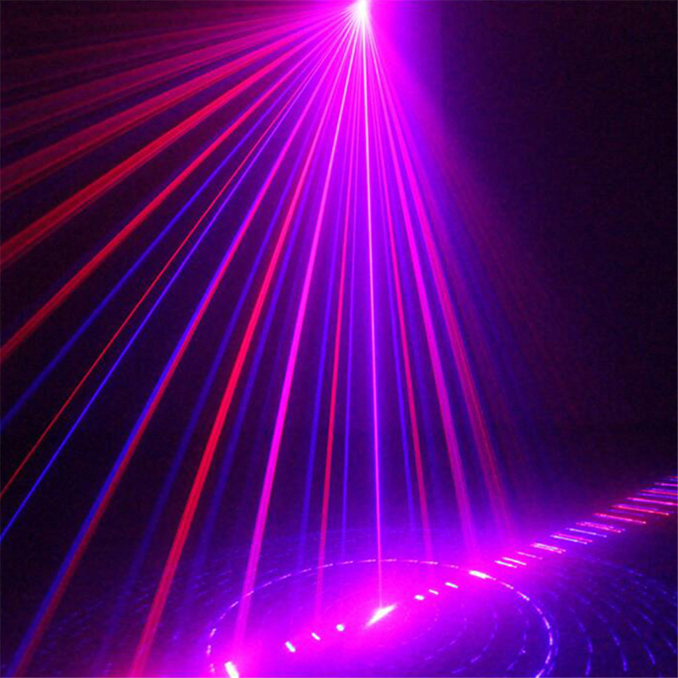 blue red laser stage lighting effects home disco dj party laser