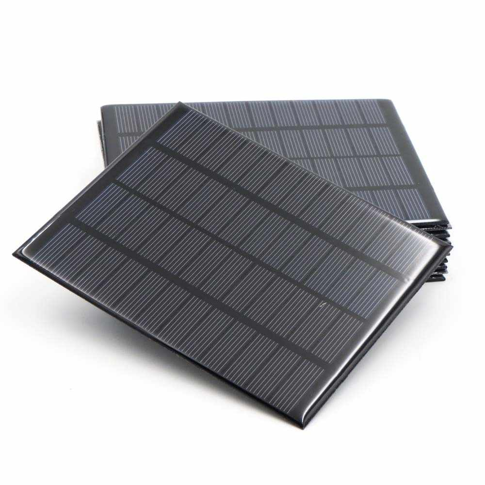 الخلايا الشمسية 12 V DC لوحة شمسية مصغرة كيت DIY ل بطارية شحن الهاتف شواحن المحمولة 12 V فولت 1.5 W 1.8 W 1.92 W 2 W 2.5 W 3 W 4.2 W