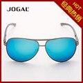 Men's simple fashion full magnesium RETRO SUNGLASSES FRAME mirror bright coating film clam Polarized Sunglasses sunglasses women
