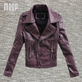 3Colors genuine leather jackets women 100% lambskin motorcycle jacket coats veste cuir veritable pour femme abrigos mujer LT195