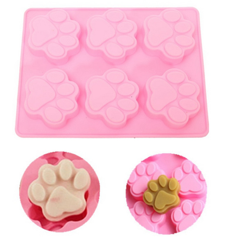 Cats Paw Silicone Cake Mold Chocolate Cookies Decorating Soap Tools Kitchen Fondant Cooking Accessories New