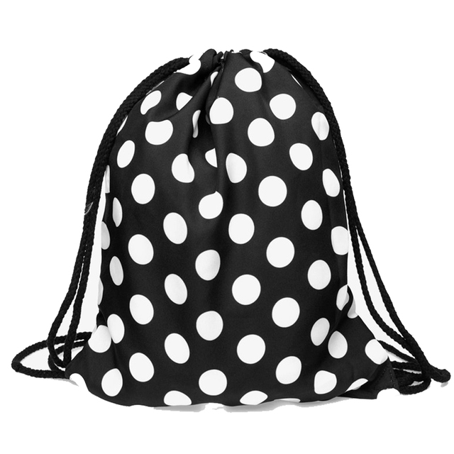 Soft Geometric Patterned Drawstring