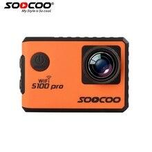 SOOCOO S100 PRO Wi-Fi 4К Спорт Камера С Сенсорным Экраном Встроенный Гироскоп с GPS Расширение (GPS Модели не включают) голосовое Управление Экшен Kамера  экшен-камера
