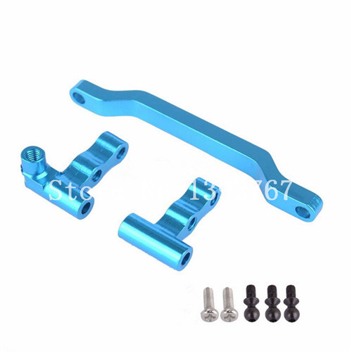 WLtoys A949 A969 A979 Upgrade Parts Aluminum Steering Linkage A949-08 For RC HSP 1/18 Scale Models RC Car 580003 82910 ricambi x hsp 1 16 282072 alum body post hold himoto 1 16 scale models upgrade parts rc remote control car accessories