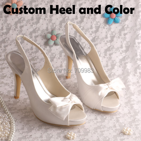Cream Color Women High Heels Sandals Platform Open For Wedding Party Dropshipping In Womens Pumps From Shoes On Aliexpress