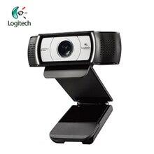 Logitech C930C 1920*1080 HD Garle Zeiss เลนส์การรับรองเว็บแคม 4 ดิจิตอลซูมสนับสนุนการตรวจสอบอย่างเป็นทางการสำหรับ PC