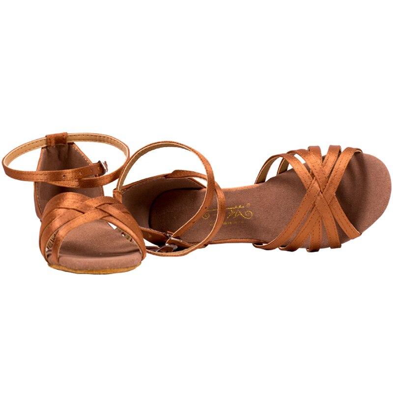 3.5 CM talons enfants chaussures de danse latine Tango chaussures de danse de salon pour femmes enfants filles de haute qualité pratique Salsa sandales 88