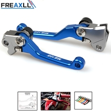 1 Pair Motorcycle Accessories Motocross Dirt bike Pivot Clutch Brake Lever For YAMAHA YZF85 2015-2016 NEW  YZ85