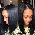 8A Bob Glueless Full Lace Human Hair Wigs Short Hairstyles Malaysian Virgin Hair Silky Straight Human Hair Wigs For Black Women