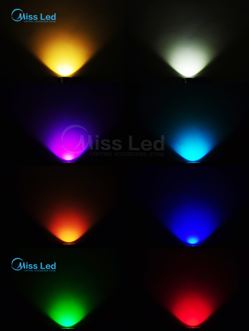 Express 10W 85-265V Silver Led Underwater Floollight with Convex Glass RGB/Blue/Red/Green/Warm/Cold white IP65 Pool Lakescape
