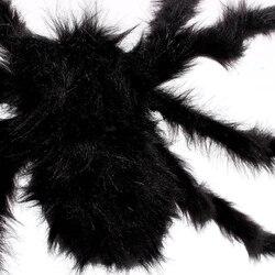 Пушистая имитация паука игрушка ужасное украшение для Хэллоуина дом с привидениями День Дурака YJS Прямая поставка