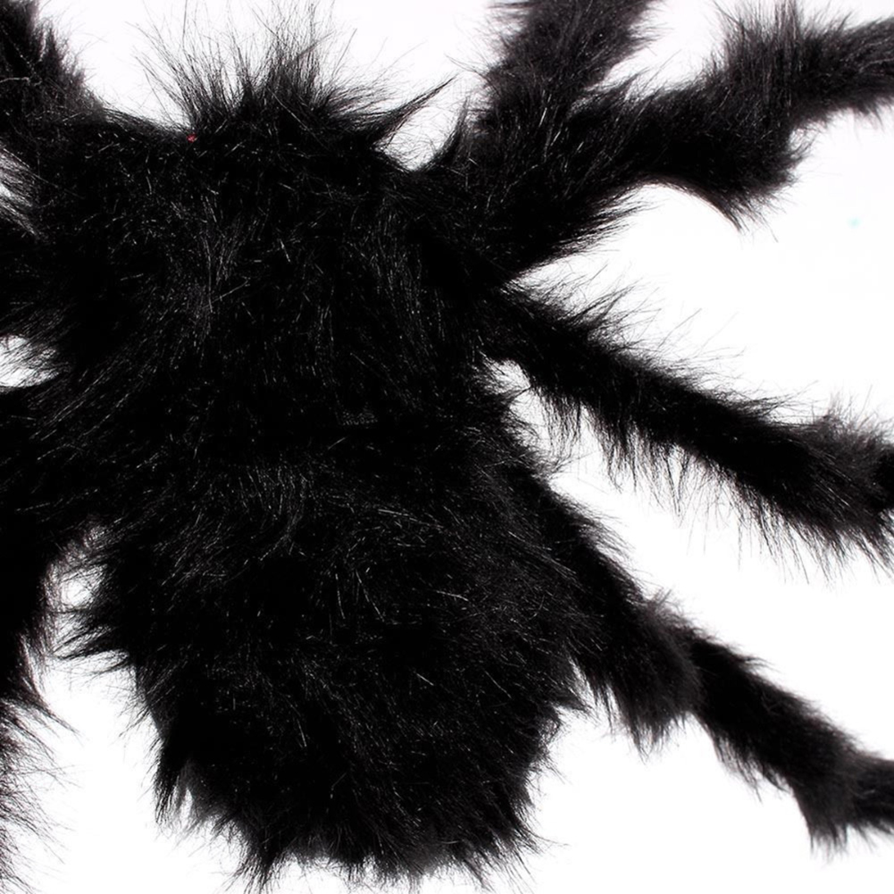 Furry Simulation Spider Toy Horrible Decoration For Halloween Haunted House Fool's Day YJS Dropship