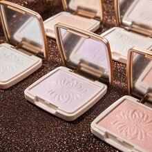 Makeup Shimmer Highlighter Face Pressed Powder Base Concealer Palette Brighten Skin Contouring Iluminador Maquiagem