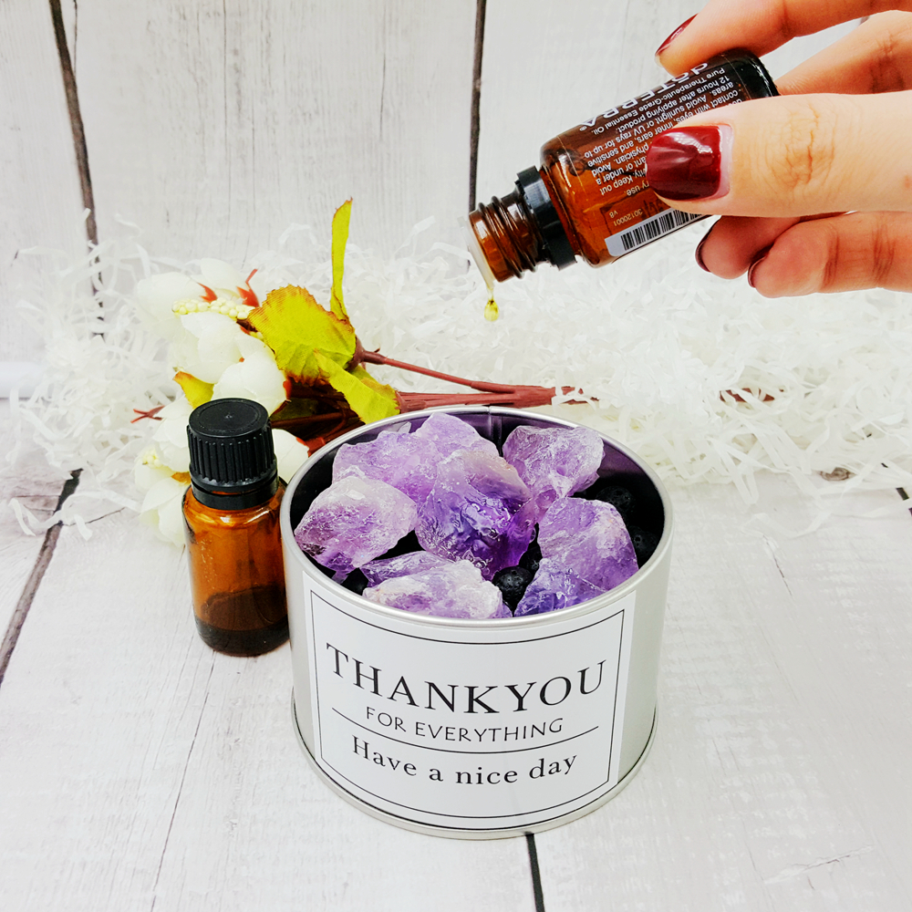 Crystal Healing Rock Stone for Aromatherapy Diffusion Essential Diffuser Birthday Gift for Bathroom(without oils)