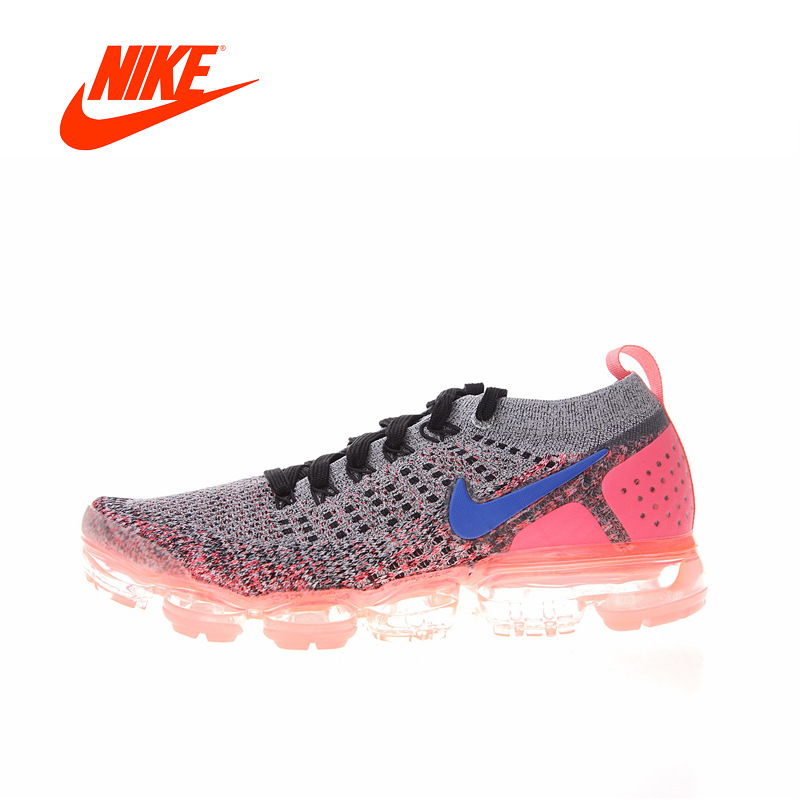 Original New Arrival Authentic NIKE AIR VAPORMAX FLYKNIT 2 Women's Running Shoes Sneakers Sport Outdoor Good Quality 942843-104