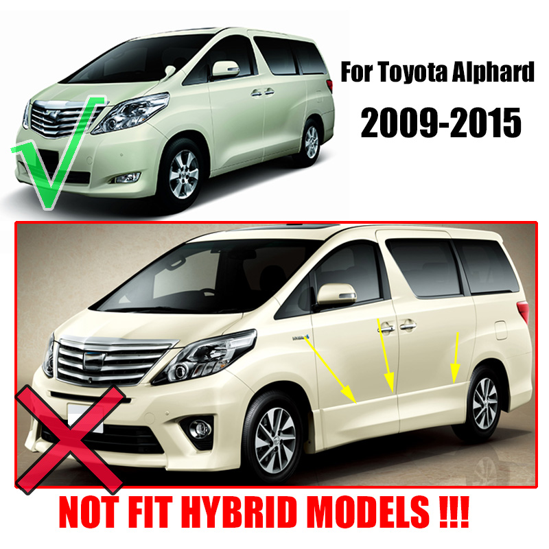 fit for toyota alphard 2009 2010 2011 2012 2013 2014 2015 mudflaps rh aliexpress com