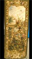 2014 Real Gobelin Picture Tapestry Wall Hanging Pure Wool Handmade French Gobelins Weave Tapestry 85cmx210cm 2.8'x 6.9'gc16tap46