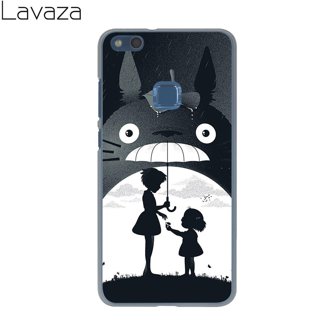 Lavaza My Neighbor Arriving Totoro Outing Case for Huawei P20 P10 P9 Plus P8 Lite Mini 2016 2017 P smart Mate 10 9 Pro Lite