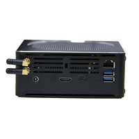 Kingdel Top Gaming Computer Intel i9 8950HK 6 Core 12 Threads 12M Cache 14nm Nuc Mini PC Pakect PC Win10 Pro HDMI WiFi Mini DP