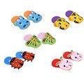1 Pc EVA Foam Craft Stickers Kids DIY Handmade Cute Cartoon Animals Slippers Baby Educational Toys Children Gifts Random Style