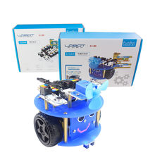 LOBOT Funbot STEAM DIY RC Robot Smart Changable Programmable Infrare Control RC Robot Scratch 2.0 Educational Kit Kids Toys(China)