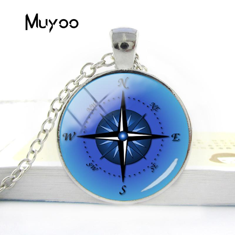 HTB1Y0r9V3HqK1RjSZFPq6AwapXaB - Vintage Old Compass Rose Steampunk Style Glass Cabochon Pendant Necklaces Glass Color Compass Jewelry Nacklace Gifts