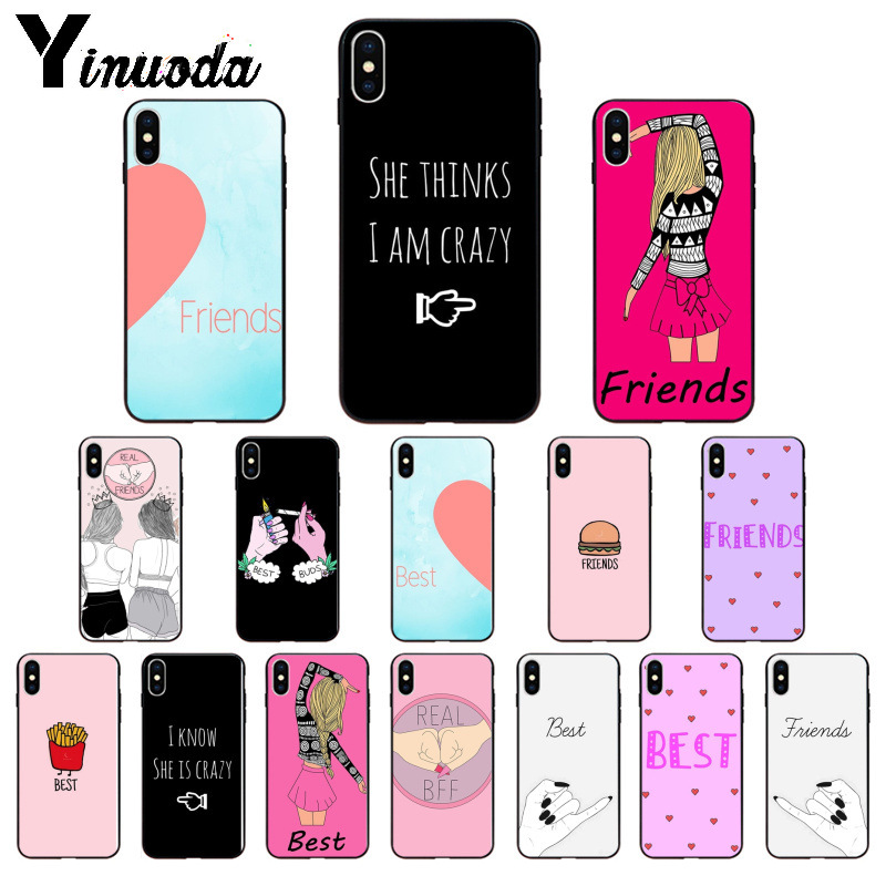 Yinuoda You are my <font><b>friend</b></font> <font><b>best</b></font> <font><b>friends</b></font> High Quality Phone Case for <font><b>iPhone</b></font> 8 7 6 6S Plus 5 <font><b>5S</b></font> SE XR X XS MAX <font><b>Coque</b></font> Shell image