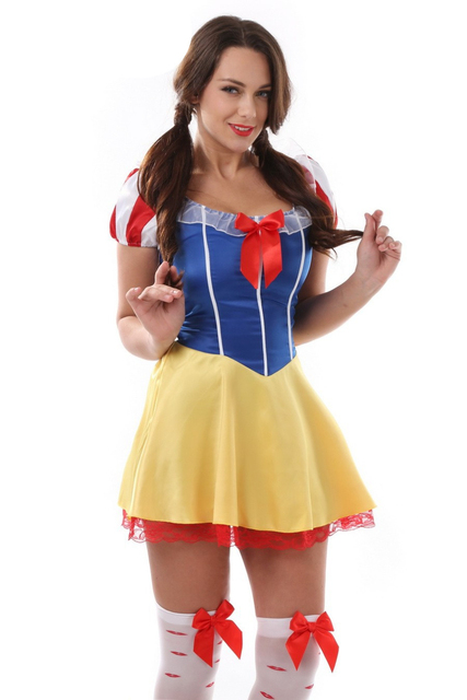 Plus Size Snow White Costume For Women Sexy Fairy Tale Halloween costume Cosplay Carnival Fancy Dress  sc 1 st  AliExpress.com & Plus Size Snow White Costume For Women Sexy Fairy Tale Halloween ...