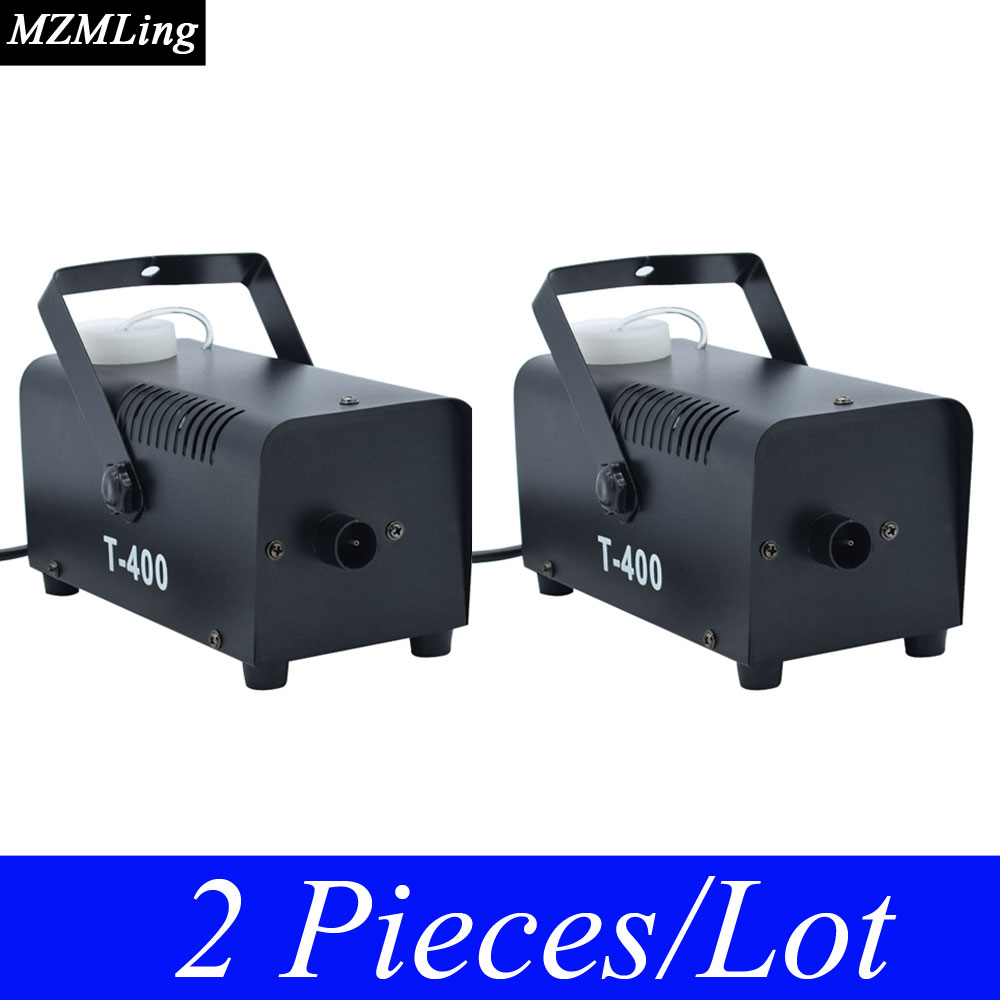 2 Piece/Lot 400w/0.3L Mini Fog Machine & Remote /Wire Control Smoke Machine Professional DJ /Bar /Party /Show /Stage Machine цена 2017