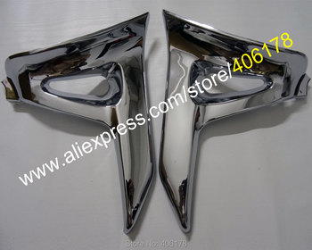 Hot Sales,Chrome Triangle Cover For Honda GoldWing GL 1800 GL1800 Chrome Left Right Motorcycle Parts Modified accessories Мотоцикл