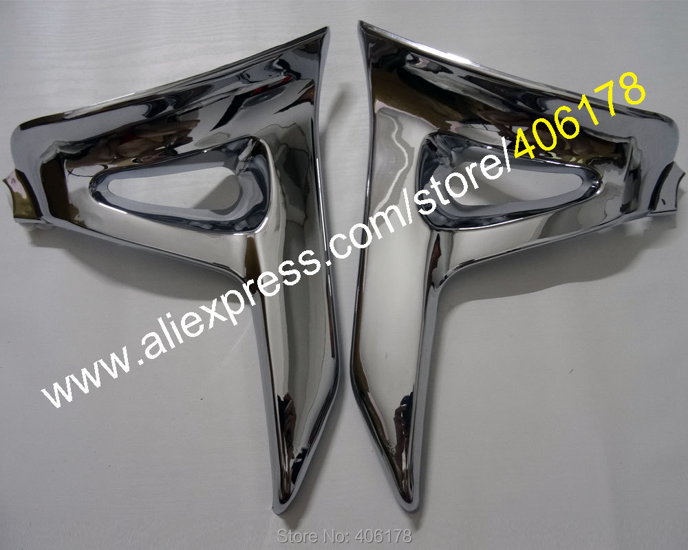 Hot Sales,Chrome Triangle Cover For Honda GoldWing GL 1800 GL1800 Chrome Left Right Motorcycle Parts Modified accessories