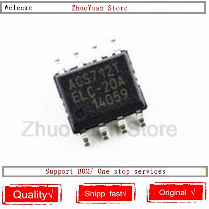 1PCS/lot New Original ACS712ELCTR-20A-T ACS712ELCTR-20A ACS712TELC-20A ACS712T ACS712 SOP-8  IC Chip