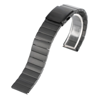 Mens Women Stainless Steel Watch Band Strap Metal Bracelets Wrist Watches Watchband Replacement 18 20 22