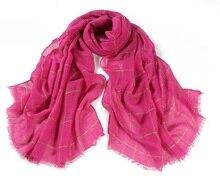 Classic Cotton Plaid Checked Print Red Scarf Large Soft Women Scarves Tassles Big Tartan Delicate Fashion Wrap Shawls