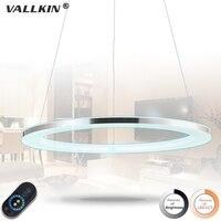 Acylic Pendant Light Single Ring Hanging Lighting With 30W D80CM CE FCC VALLKIN LIGHTING