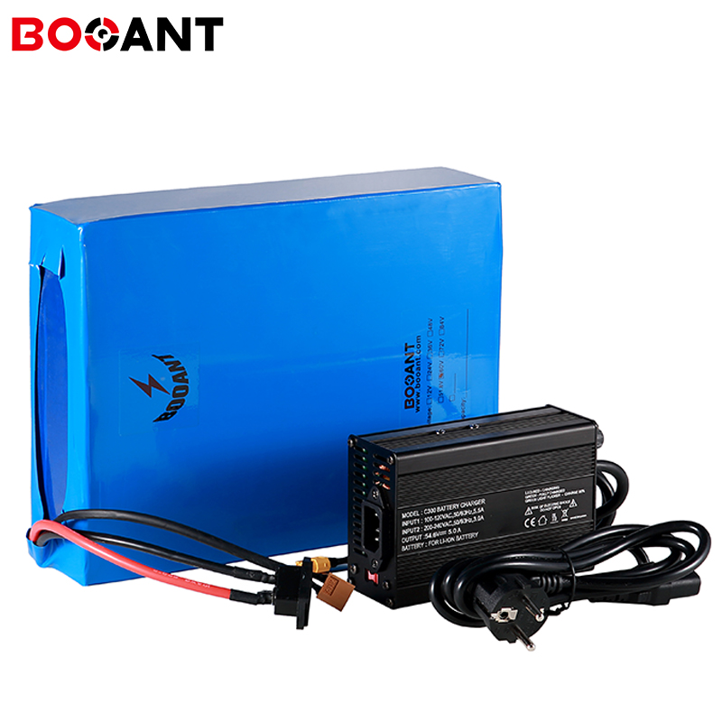 48V 40Ah E-Bike Lithium Battery for Samsung 18650 cell 13S 48V Electric Bicycle Battery 1500W 2000W with 70Amps BMS +5A Charger title=