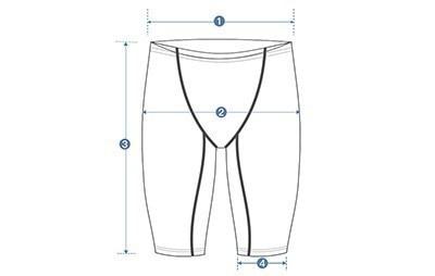 Мужская одежда для плавания из лайкры более высокого уровня