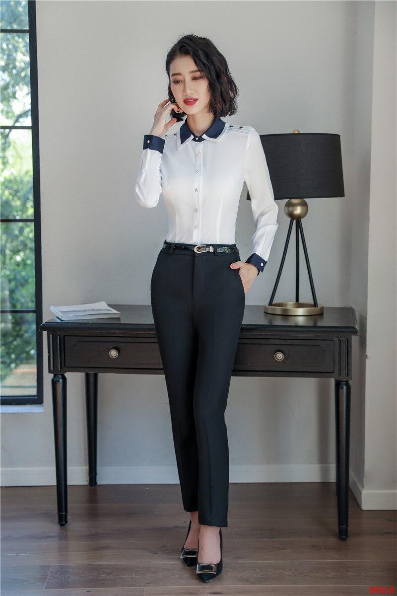 653bcbecf8f2a6 Vêtements À Blanc De Travail Pantalon Longues Top Chemises Et ...