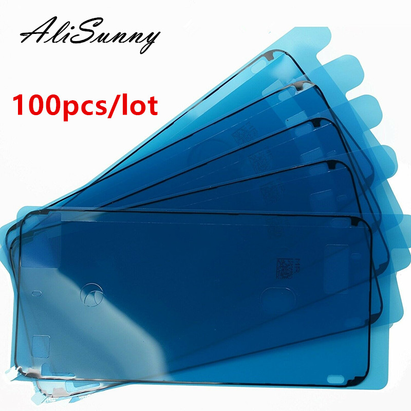 AliSunny 100pcs Waterproof Adhesive for iPhone 7 6S Plus 3M Sticker for iPhone 8 Plus X XS Max XR LCD Screen Frame Tape