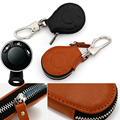New Genuine Leather Key Bag Cover For BMW Mini Cooper Hardtop Convertible Cabrio Clubman Countryman Roadster Paceman KDZY-043