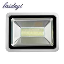 цена на 3PCS 220V Outdoor Lighting 150W LED Street Light Flood Light SMD5730 300 LEDs Floodlights Reflector Led Spotlight Flood Lights