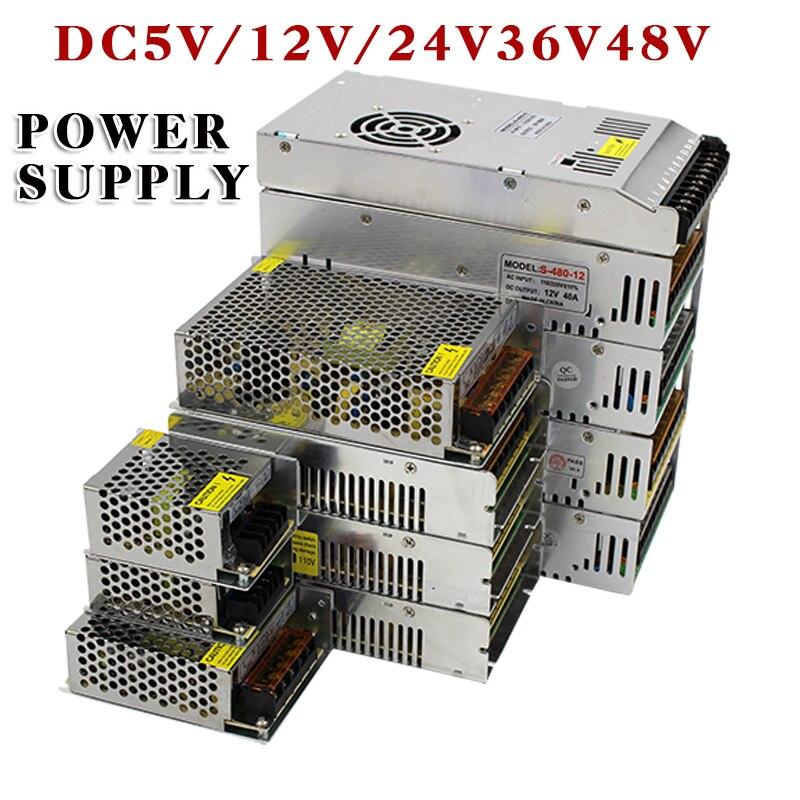 Lighting Transformers LED DC 5V 12V 24V 36V Adapter AC