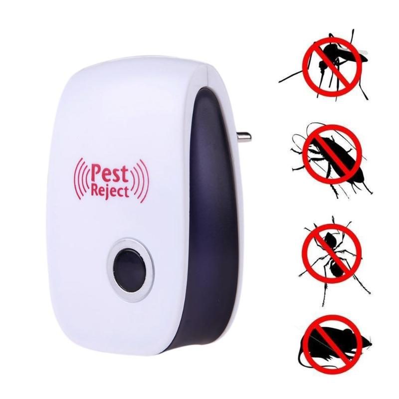 Electronic Ultrasonic Pest Repellers Anti Mosquito Killer Repeller Insect Repeller Rat Mouse Cockroach Pest Control Bug 35