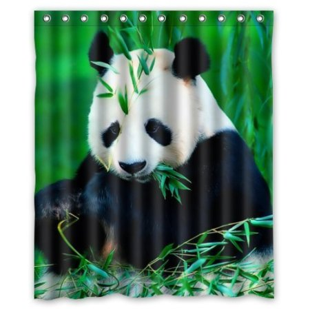 Online Get Cheap Panda Shower Curtain Aliexpress Com Alibaba Group