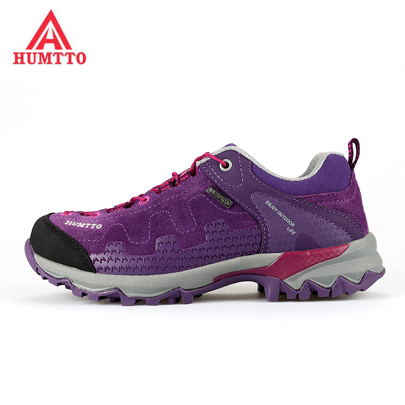 HUMTTO Women's Leather Outdoor Hiking Trekking Shoes Sneakers For Women Sports Climbing Mountain Shoes Sneaker Wooman ,EUR 36-40 humtto women s leather outdoor hiking trekking sneakers shoes for women purple sports climbing mountain shoes woman sneaker